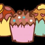 ハートのカップケーキ4
