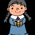 聖歌隊の女の子
