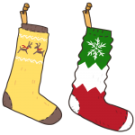 クリスマスの靴下
