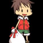 サンタクロースな男の子