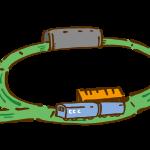 おもちゃの電車5(レールと電車)