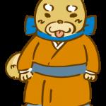 着物を着た柴犬1