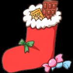 お菓子のブーツ