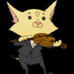 バイオリンを弾くチワワ(コンサート)