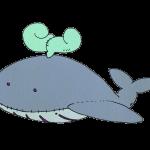 クジラのぬいぐるみ