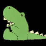 恐竜のぬいぐるみ