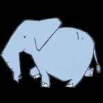 ゾウのお面