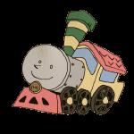 おもちゃの機関車