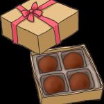 箱に入ったチョコレート