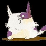 ブチの子猫