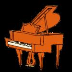 クラシックなピアノ