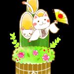 門松猫ちゃん