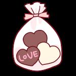 袋詰めのチョコレート