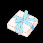 四角い箱のプレゼント