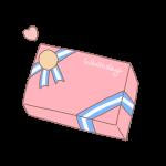 四角い箱のプレゼント3