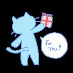 猫からのプレゼント