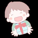 男の子からのプレゼント