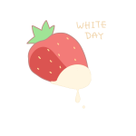 ホワイトチョコかけいちご
