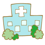 病院の建物