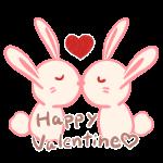 バレンタイン_キスウサギさん1