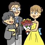 花束贈呈1