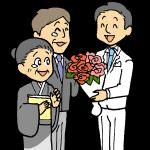 花束贈呈2