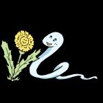 蛇とタンポポ