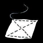 雑巾と針と糸