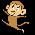 猿ジャンプ