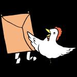 凧揚げと鳥