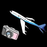 飛行機とカメラ