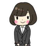 スーツを着た女性