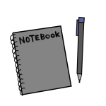 メモ帳とシャープペン