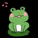 歌うカエル