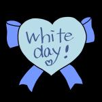 「White day」ハート