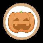 アイシングクッキー(かぼちゃ)