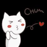 愛を飛ばす猫