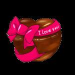 大きな愛のチョコレート