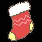 靴下(赤)