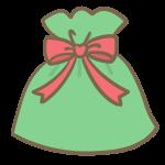 クリスマスギフト(赤)