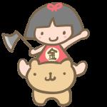 クマと金太郎