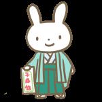 五歳の男の子(ウサギ)