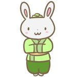 ウサギの彦星