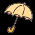 傘(オレンジ)