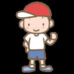 赤帽子の男の子