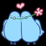 小鳥のカップル