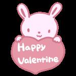 HappyValentine(ウサギ)