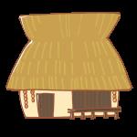 かやぶき屋根のおうち