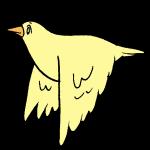 羽ばたき横1