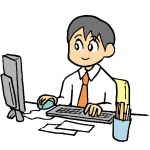 オフィス男性